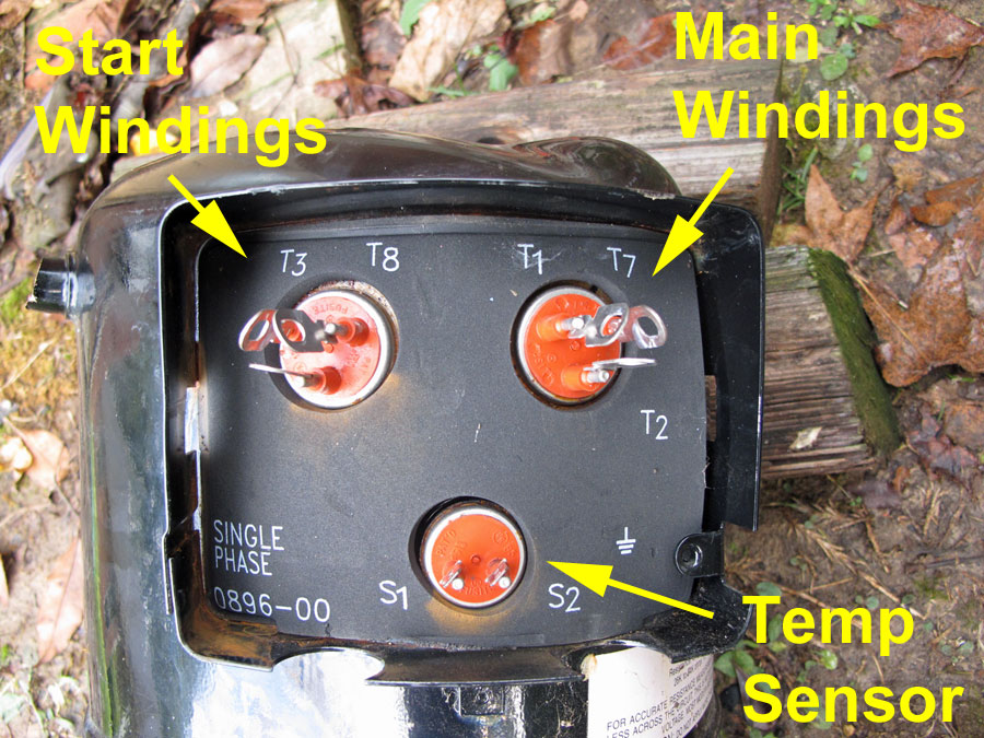 hvac air conditing heat pumps lightning claims two two speed terminal blocks
