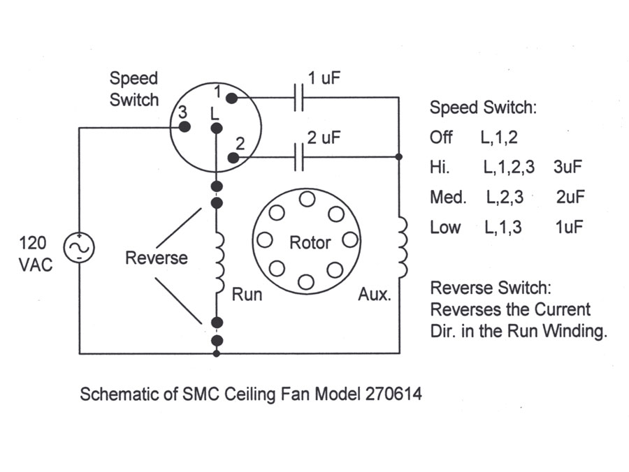 How do I wire a ceiling fan/light combo fixture on two separate