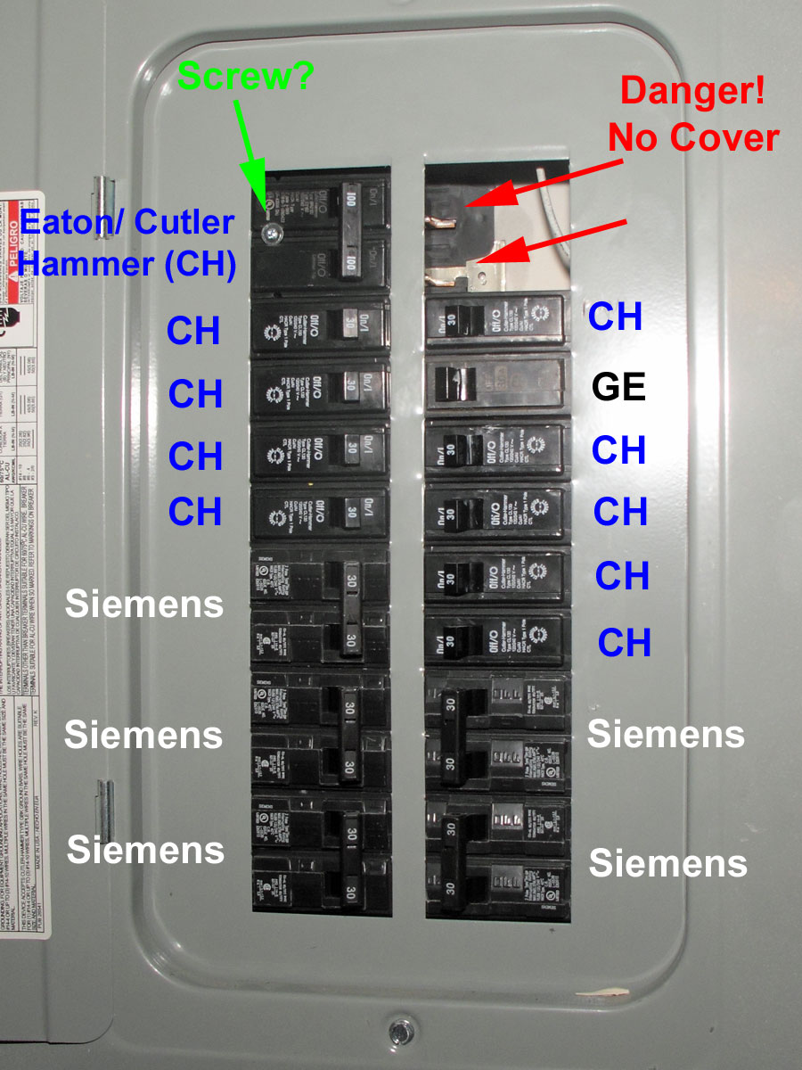 Electrical Distribution Panels & Circuit Breaker Fires