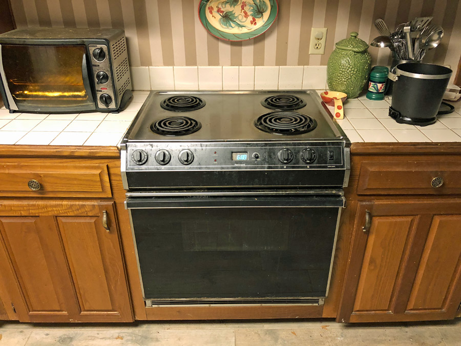 electric ranges and cooktops