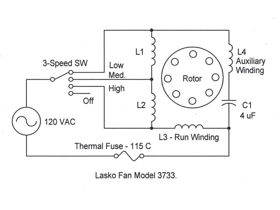 Box Fan Wiring Diagram from www.electrical-forensics.com