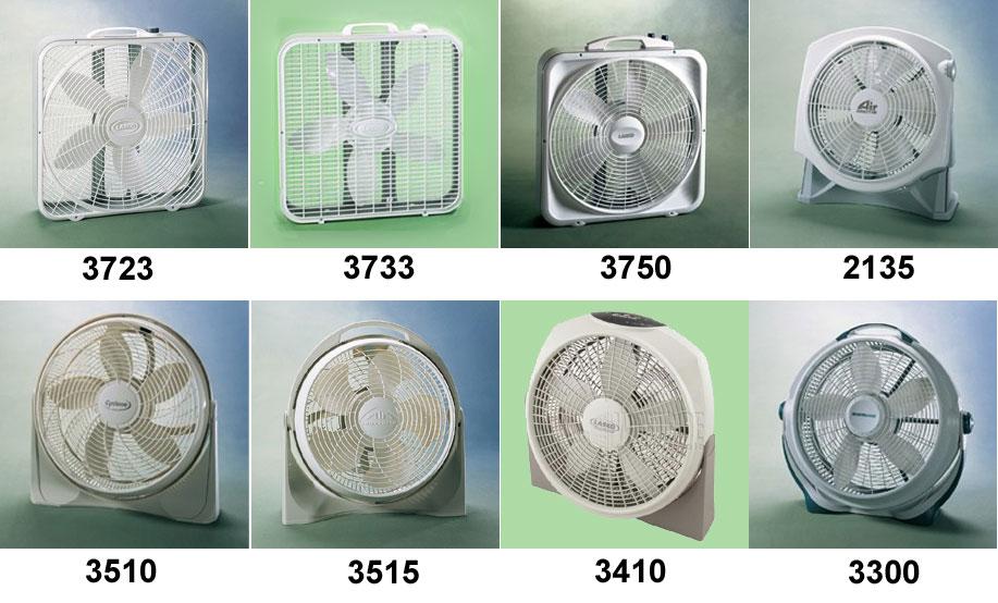 Lasko 3723 Premium Box Fan 3 SPEED