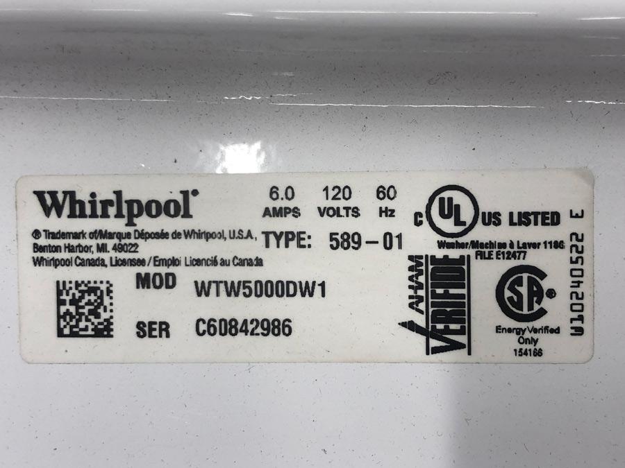Whirlpool Date Codes