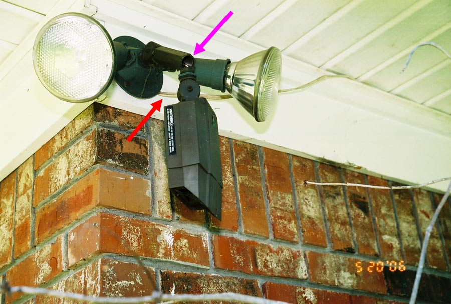 Flood Lights With Extension Cord : National electrical code violations